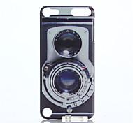 étui rigide motif caméra pc pour ipod touch 5