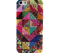 Floral Pattern TPU Material Phone Case for iPhone 5/5S
