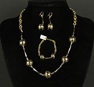 Fox&Crown Alloy Jewelry Set Fashion Wedding Jewelry 1 set