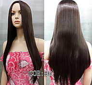 Straight Skin Top Long wig Fashion Synthetic Hair wigs