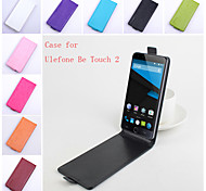 Flip Leather Magnetic Protective Case For Ulefone Be Touch 2(Assorted Colors)