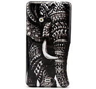 Elephant Pattern TPU Soft Case for Nokia N535