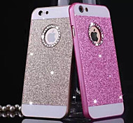 Diamond Bling Glitter Back Cover Case with Hole for iPhone 4/4S