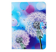 Painted White Dandelion Stand Tablet PC Case for Galsxy Tab A 9.7/Tab 4 10.1