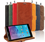 Special Design High-Grade Genuine Leather Mobile Phone Holster for Samsung Galaxy NOTE 4