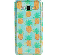 Pineapple  Pattern TPU Soft Case for Galaxy A8