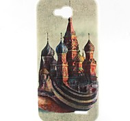Castle Pattern TPU Material Soft Phone Case for LG L90 D405