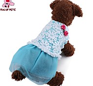 FUN OF PETS® Lovely Hollowing Out Bubble Skirt with Lace for Pets Dogs (Assorted Colors and Sizes)