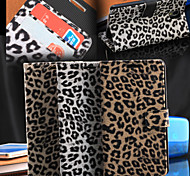 Leopard Print Pattern Horizontal Flip Leather Case with Card Slots and Holder for Galaxy Note 3