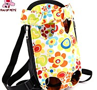 Cat Dog Carrier & Travel Backpack Pet Baskets Portable Cute Multicolor Fabric