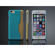 High quality PU leather case for iphone 6