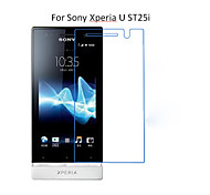 5PCS HD Clear Transparent Screen Protector Film For Sony Xperia U ST25i