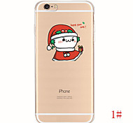Cute Cartoon Cosplay Soft TPU Gel Dirt-resistant Case Cover  Back Skin Mobile Phone Case for iPhone 5/5S