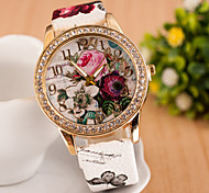 Women's Watches Diamond Fashion Watch Bohemia Style Watch Beautiful Flowers Cool Watches Unique Watches Strap Watch
