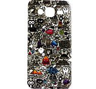 Illustration Pattern TPU Material Phone Case for Samsung Galaxy J5 / Galaxy J7