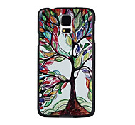 Multicolored Tree Pattern PC Painted Hard Case For S4 Mini/S5