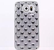 Diamond TPU following fashion for Samsung GALAXY S6 S6Edge S5 S4 S3 S5mini S4mini S3mini