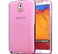 Ultra-Thin Transparent TPU for Samsung Galaxy NOTE 3/NOTE 4(Assorted colors)