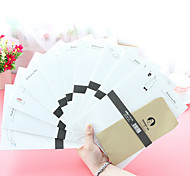 Cartoon Letter Paper Set(6 Paper 3 Envelopes)