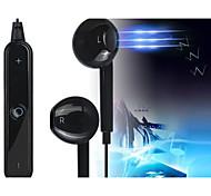 Bluetooth v4.0 S6 in-ear fone de ouvido estéreo com microfone para 05/06 / 5s samsung S4 / 5 lg HTC e outros (cores sortidas)