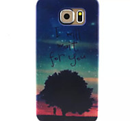 Night Sky Pattern TPU Phone Case For Galaxy S6 / S6 edge