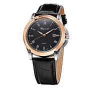 2015 New Simple Fashion Roman Numerals Faux Leather Analog Quartz Watch Men Diamond Watches Wrist Watch