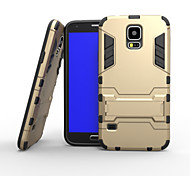 New Iron Man Style Plastic Case with Stand for Samsung GALAXY S5(Assorted Colors)