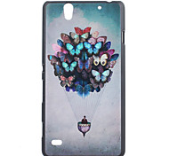 Butterfly Balloom Pattern PC Hard Case for Sony Xperia C4