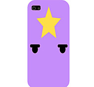 Yellow Five-Pointed Star Pattern Phone Back Case Cover for iPhone5C