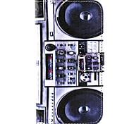 Lautsprecher-Muster PU-Leder-Telefonkasten für Galaxie J1 / galaxy grand 2 g7106