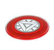 Disney Iron Man Arc Reactor Wireless Charger For Any QI Certified USB Device Expecially for Samsung S6 S6E