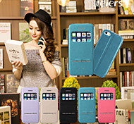 NEW//2015 Design mobile phone cover window and Smart phone holster for iphone5/5s