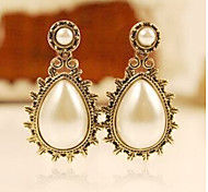 """New Arrival Hot Selling High Quality Retro Water Drop Pearl Earrings"""