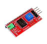 IIC / I2C / LCD1602 интерфейс для функции Arduino Arduino библиотеки передачи