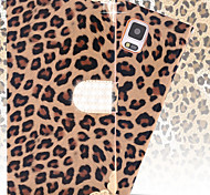 Diamond Leopard Skins Flip Wallet Case for Samsung Galaxy Note 4 (Assorted Colors)