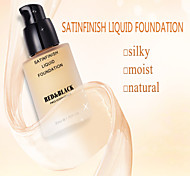 Red&Black Satin Finish Liquid Foundation Moist And Light Silky Texture 30ml