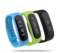 Bluetooth 4.0 Multifunctional Running Waterproof Pedometer/Calories Intelligent Bracelet Sleep Temperature Monitoring