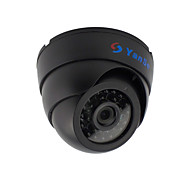 YanSe® 2.8MM Dome IR LED CCTV Surveillance Bullet Day/Night Vision Indoor Camera 1000TVL Nurse/Baby Security W/B