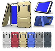 The New Combo with Stand Protective Sleeve for Galaxy J5/J7(Assorted Colors)
