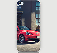 Red Car Pattern Phone Case Back Cover Case for iPhone5C