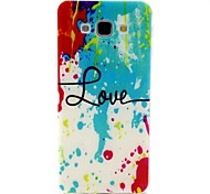 Special Design/Graphic TPU Back Cover For Samsung Galaxy A8