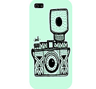 The Camera Pattern Phone Back Case Cover for iPhone5C