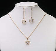 European Fashion  Hollow Jewelry Set series 7