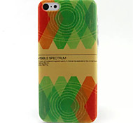 Green  Plaid  Pattern TPU Phone Case for iPhone 5C