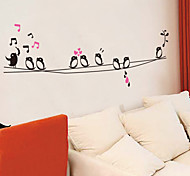 наклейки для стен стены наклейки наклейки в стиле пение птиц ПВХ стены