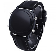 Men's LED Silicone Band Digital Sport Wrist Watch
