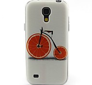 modello bicicletta materiale TPU soft phone per mini i9190 Samsung Galaxy S4