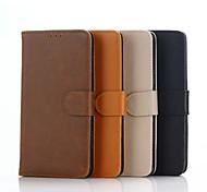 5,5-Zoll verrückt ma Muster Luxus echtes Leder-Mappenkasten für Samsung-Galaxie j7 j7008 (verschiedene Farben)