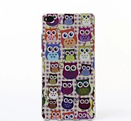 The Owl Pattern TPU Soft Case for Huawei P8