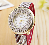 Women's Watches 2015 New Style Fashion Lady On The High On The Swiss Alloy Full Bore Quartz Watch